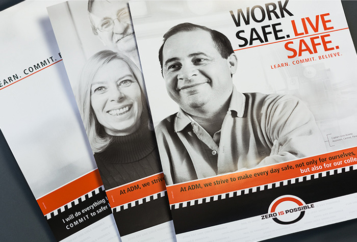 Three ADM Safety Brochures