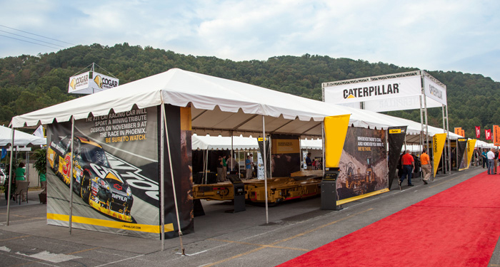 Bluefield Tradeshow Booth