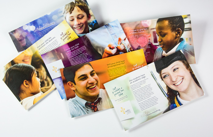 Catholic Schools Choose Everything postcards