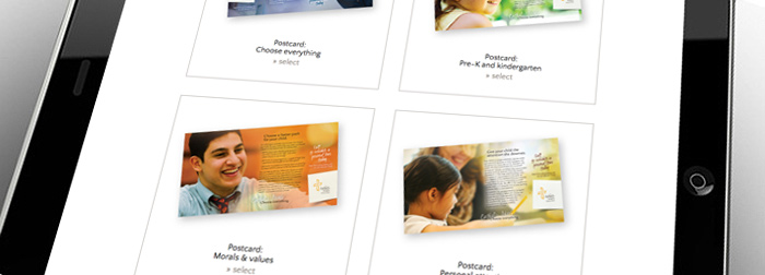 Catholic Schools Choose Everything website educator portal