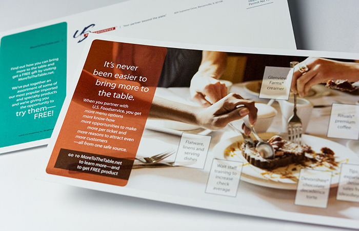 US Foods direct mail