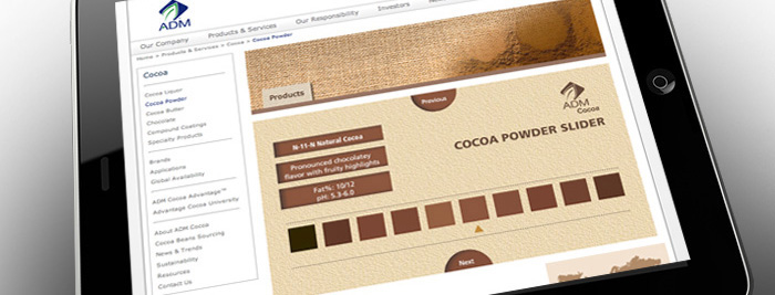 Our work | ADM Cocoa | Web Site